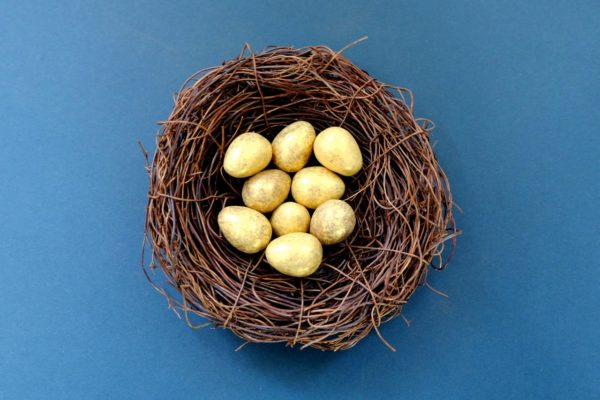 Building Up Your Nest Egg